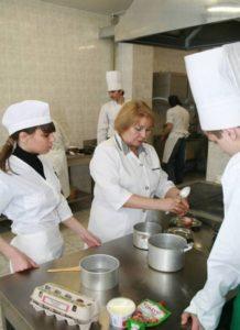 профессия повар, повар кондитер